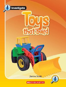 Investigate: Toys That Build x 6