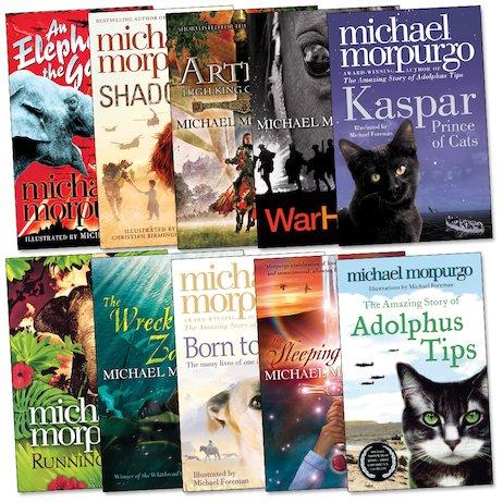Image result for michael morpurgo books for children