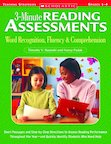 3-Minute Reading Assessments: Word Recognition, Fluency, and Comprehension (Grades 1-4 )