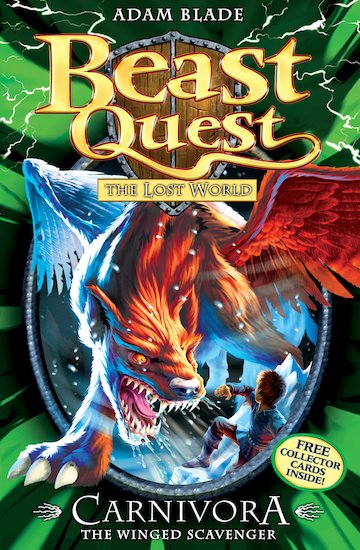 Beast quest series 7 42 carnivora the winged scavenger in the frozen