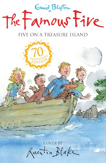 Five On A Treasure Island Book  Famous Five