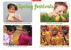 Spring festivals – poster