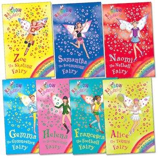 Rainbow Magic: Sporty Fairies Pack
