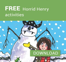 FREE Horrid Henry activities