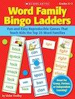 Word Family Bingo Ladders
