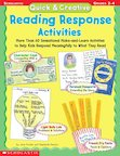 Quick & Creative Reading Response Activities: Grades 2-4