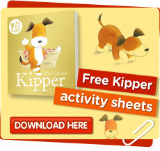 Download free Kipper colouring sheets