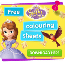 Download Sofia colouring sheets free
