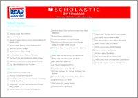 School Stories Book List 2014