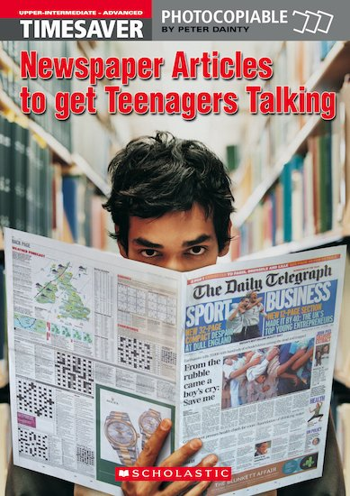 Newspaper articles to get teenager talking lifestyle
