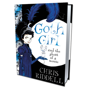 (Goth Girl 1) Goth Girl and the Ghost of a Mouse Unabridged - Chris Riddell