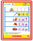 Little Red Tool Box: Magnetic Mats: Word Ladders