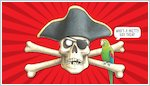 Horrible Histories Pirate wallpaper