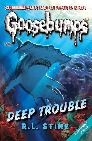 Goosebumps deep trouble book report