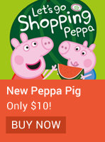 Let's Go Shoppping Peppa