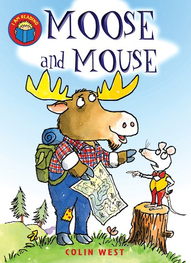 Am reading moose and mouse moose is delighted that mouse has agreed