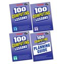 100 Computing Lessons for the 2014 Curriculum Set x 4