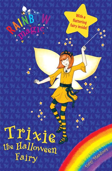 trixie the halloween fairy book report
