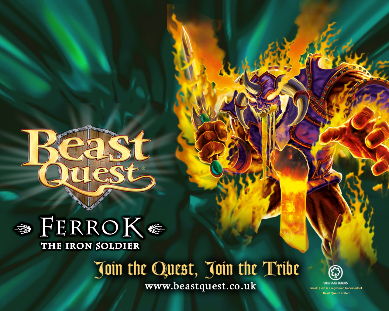 Beast Quest Ferrok Wallpaper  Scholastic Kids39; Club