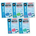 National Curriculum Revision: Maths Revision Guides Years 2-6 Set (5 books)