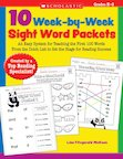 10 Week-by-Week Sight Words Packets