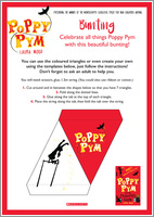Poppy Pym Bunting Free Downloadable
