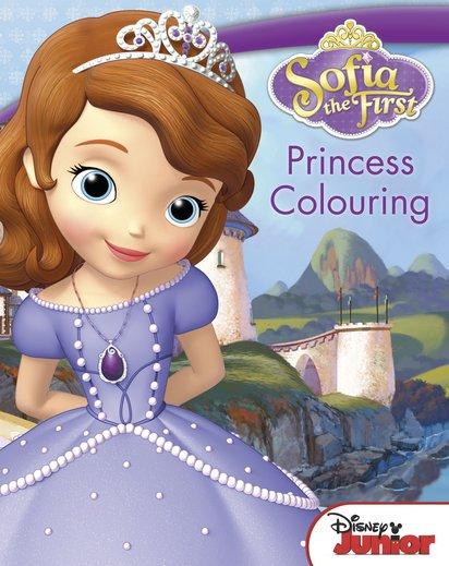 Sofia The First Princess Colouring Scholastic Book Club Princess Sofia Books