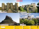 Castles interactive audio poster