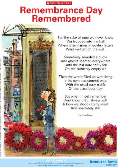 Memorial Day Poems | Examples of Memorial Day Poetry