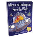 Aliens in Underpants Save the World (Board Book)