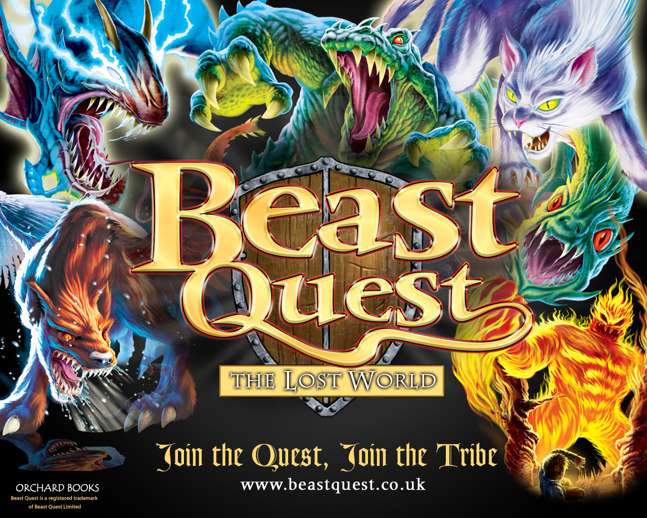 questing beast wallpaper - photo #22