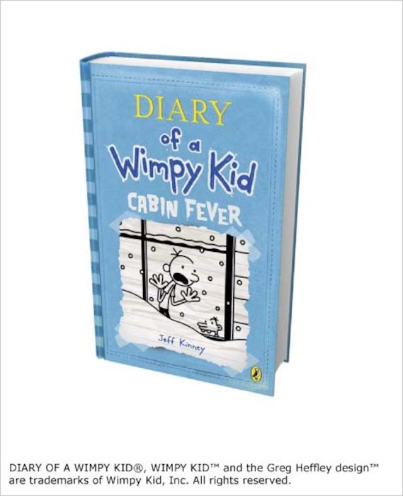 Diary Of A Wimpy Kid Cabin Fever Scholastic Shop