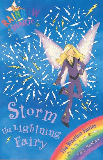 rainbow magic weather fairies 13 storm the lightning fairy scholastic kids 39 club. Black Bedroom Furniture Sets. Home Design Ideas