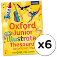 Oxford Junior Illustrated Thesaurus x 6
