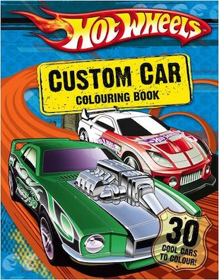 Custom Wheels  on Hot Wheels  Custom Car Colouring Book   Scholastic Book Club