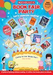 Book Fair Party poster UK