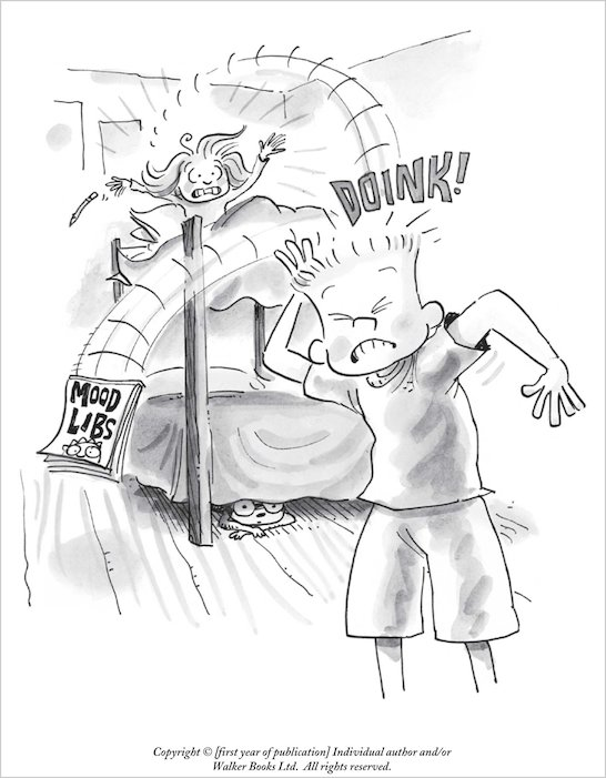 Judy Moody Coloring Pages