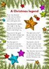 'A Christmas legend' poem