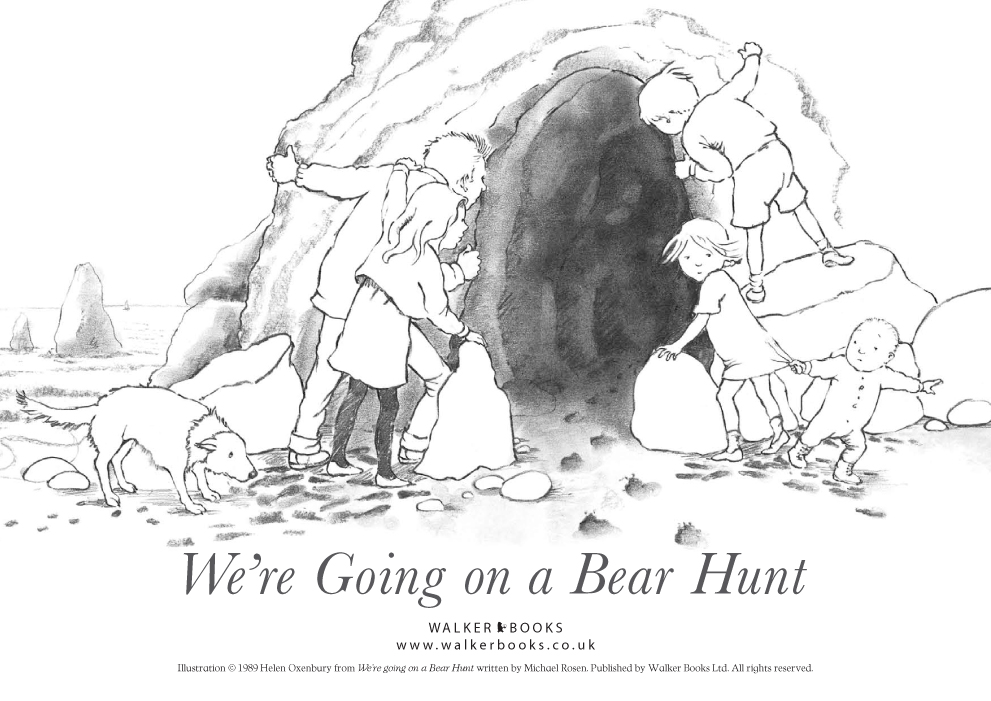 bear hunt coloring pages - photo#4