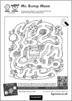 Mr Men Maze