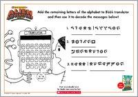 Translator Activity Sheet