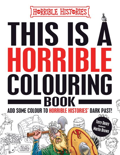 This is a Horrible Colouring Book - Terry Deary