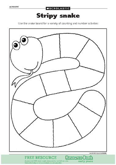 Use the snake board for the children to carry out a variety of ...