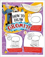 How to Draw Gromit