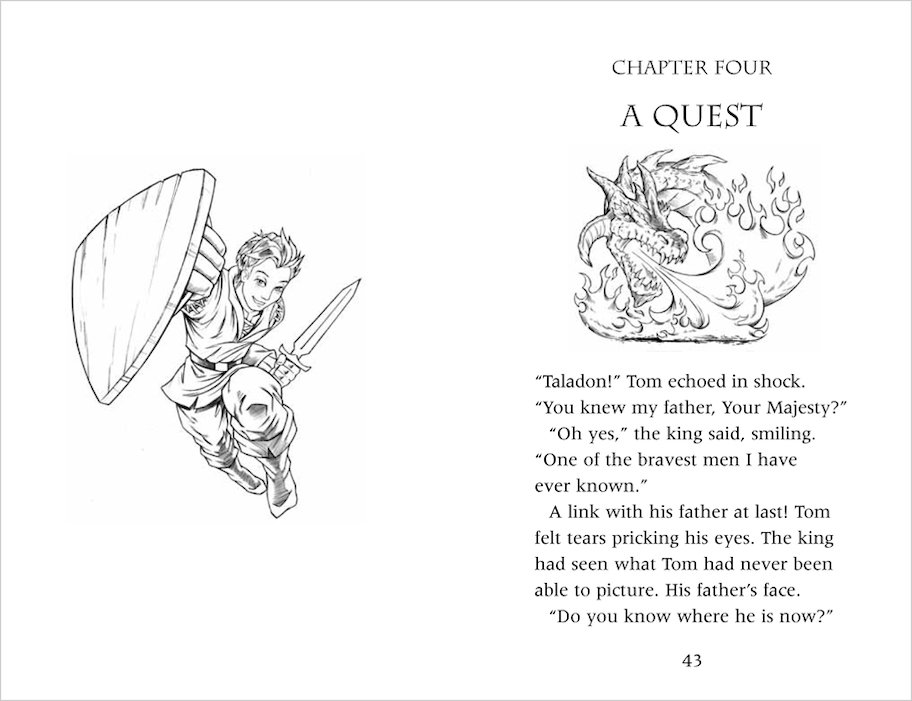Colouring Pages Beast Quest : Tom beast quest shield colouring pages page
