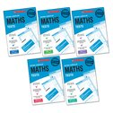 National Curriculum Tests: Maths Tests Years 2-6 Set x 6 (30 books)