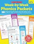 Week-by-Week Phonics Packets