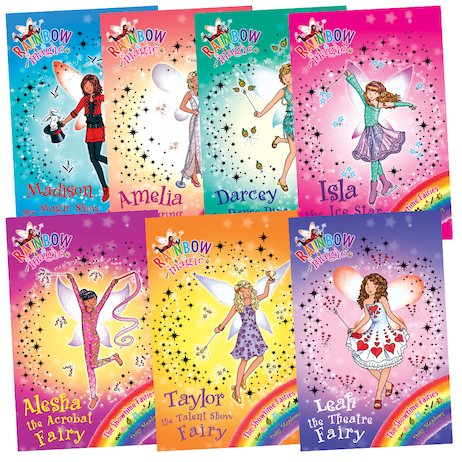 Rainbow Magic fairies books 1-14, Daisy Meadows