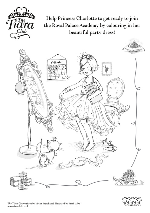 Coloring page Crown - Tiara - img 13249.