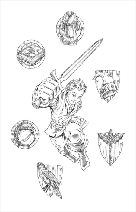 Colouring Pages Beast Quest : Free beast quest coloring pages